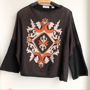 SASS & BIDE embellished sweater top